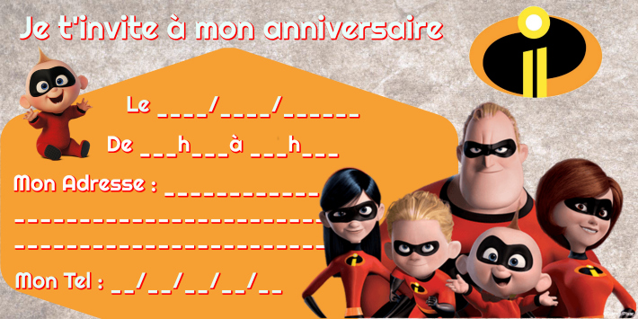 carte anniversaire indestructibles 2