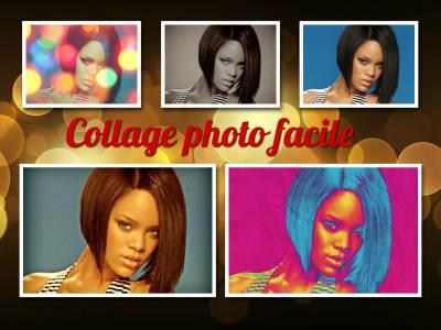 Collage photo facile