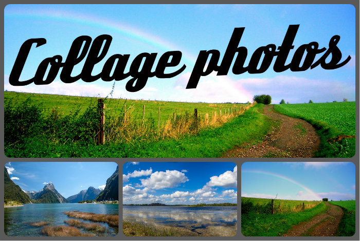 Collage photo for Pele mele photo en ligne
