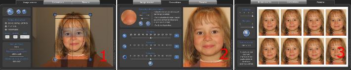 Logiciel photo identité en ligne