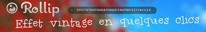 Appliquer un effet photo vintage à vos images