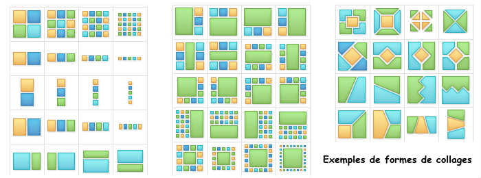 cr er un collage photo gratuit en ligne avec ipiccy. Black Bedroom Furniture Sets. Home Design Ideas