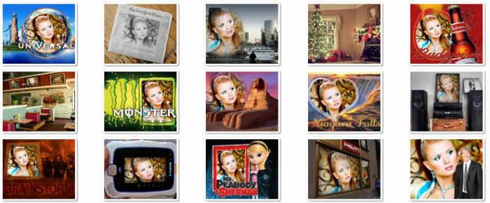 Exemples de montage photo