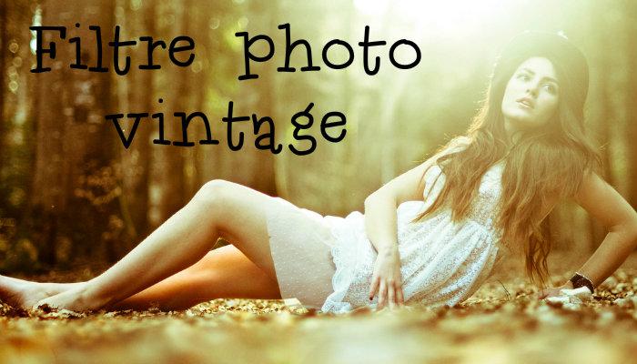 Filtre photo vintage