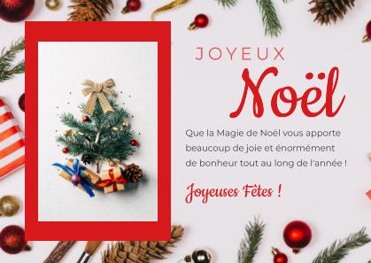 Montage Noël recto verso