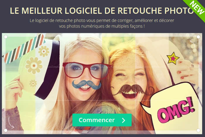 Retouche photo rigolo gratuit for Ecran retouche photo
