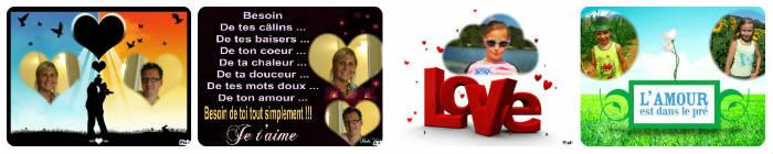 Montage photo amour avec picmonkey