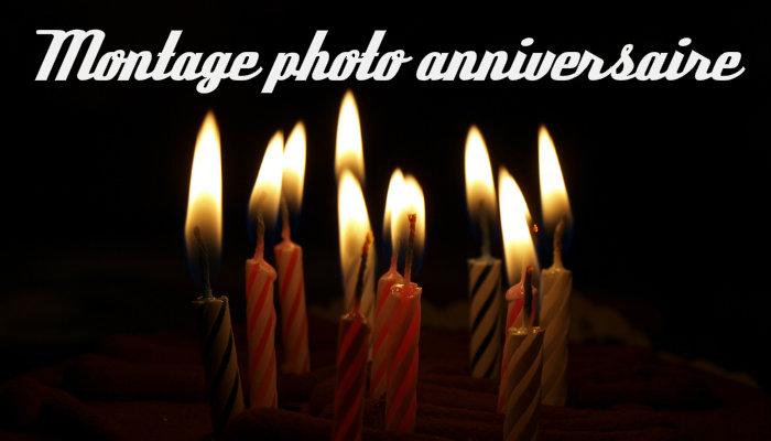 Montage photo anniversaire