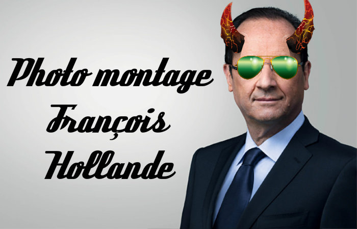 Photo montage Hollande