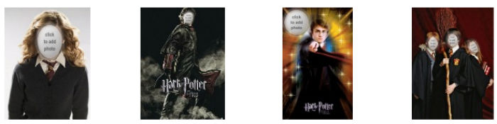 Montage photo tete Harry Potter