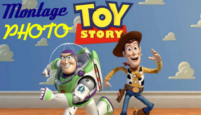 Montage photo toy story