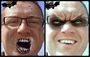 Photomontage zombie