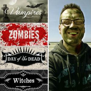 Montage zombie avec Picmonkey