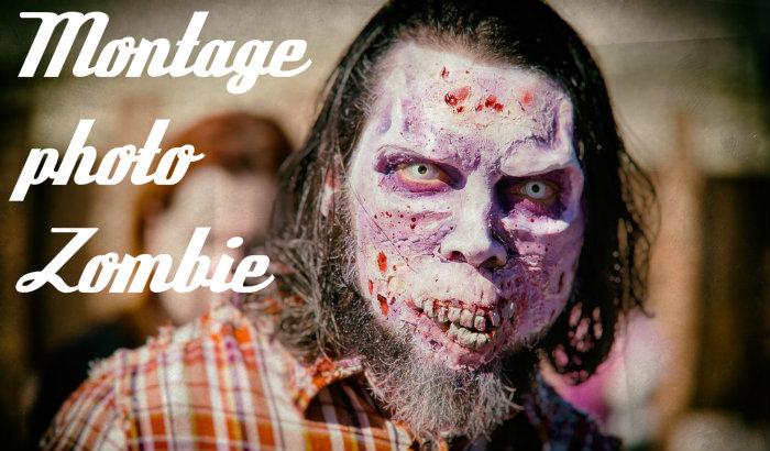 Montage photo zombie