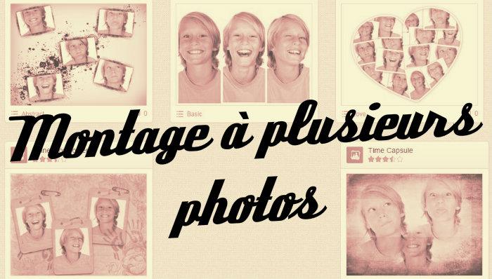 Montage plusieurs photos