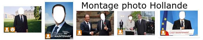 Photo montage avec président hollande