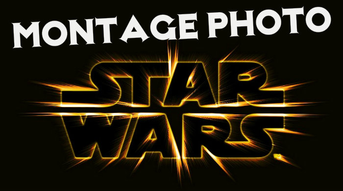 Montage photo star wars