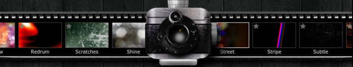 Différents effets photos