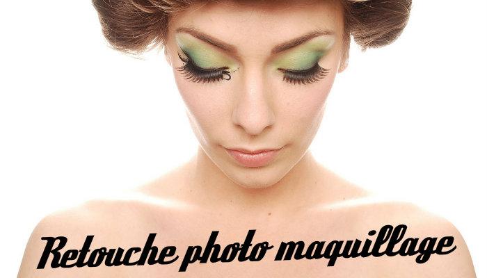 Retouche photo maquillage