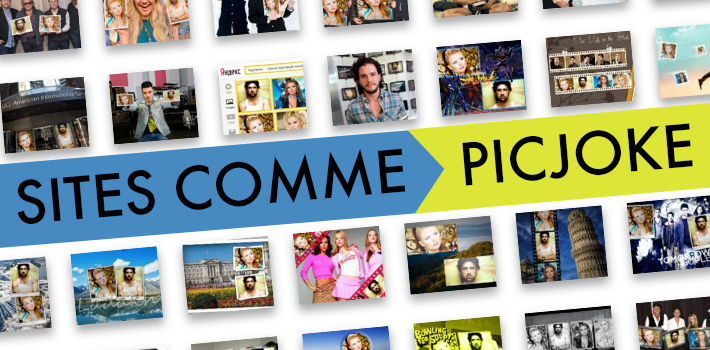 Sites comme Picjoke pour faire des montages photo fun
