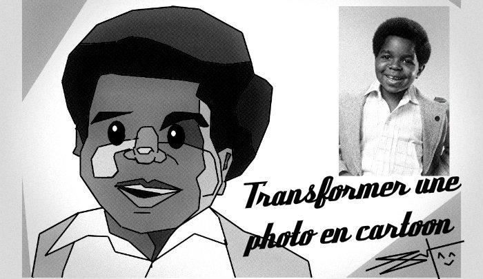Transformer une photo en cartoon